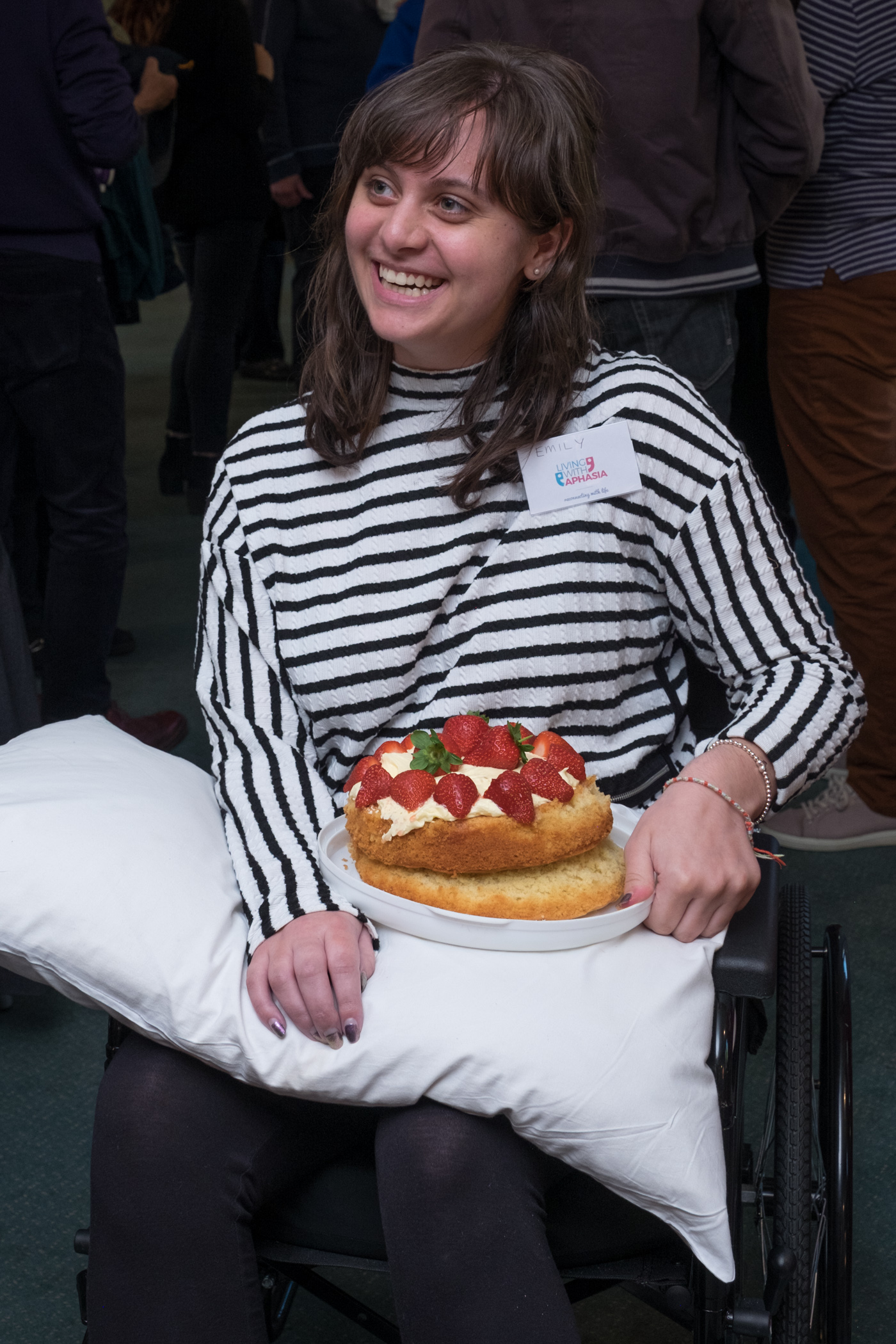 Cake Living with aphasia stroke exeter devon