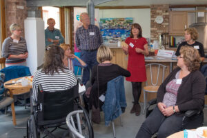 living with aphasia stroke launch exeter devon