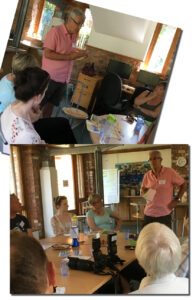 living with aphasia, training awareness exeter devon stroke