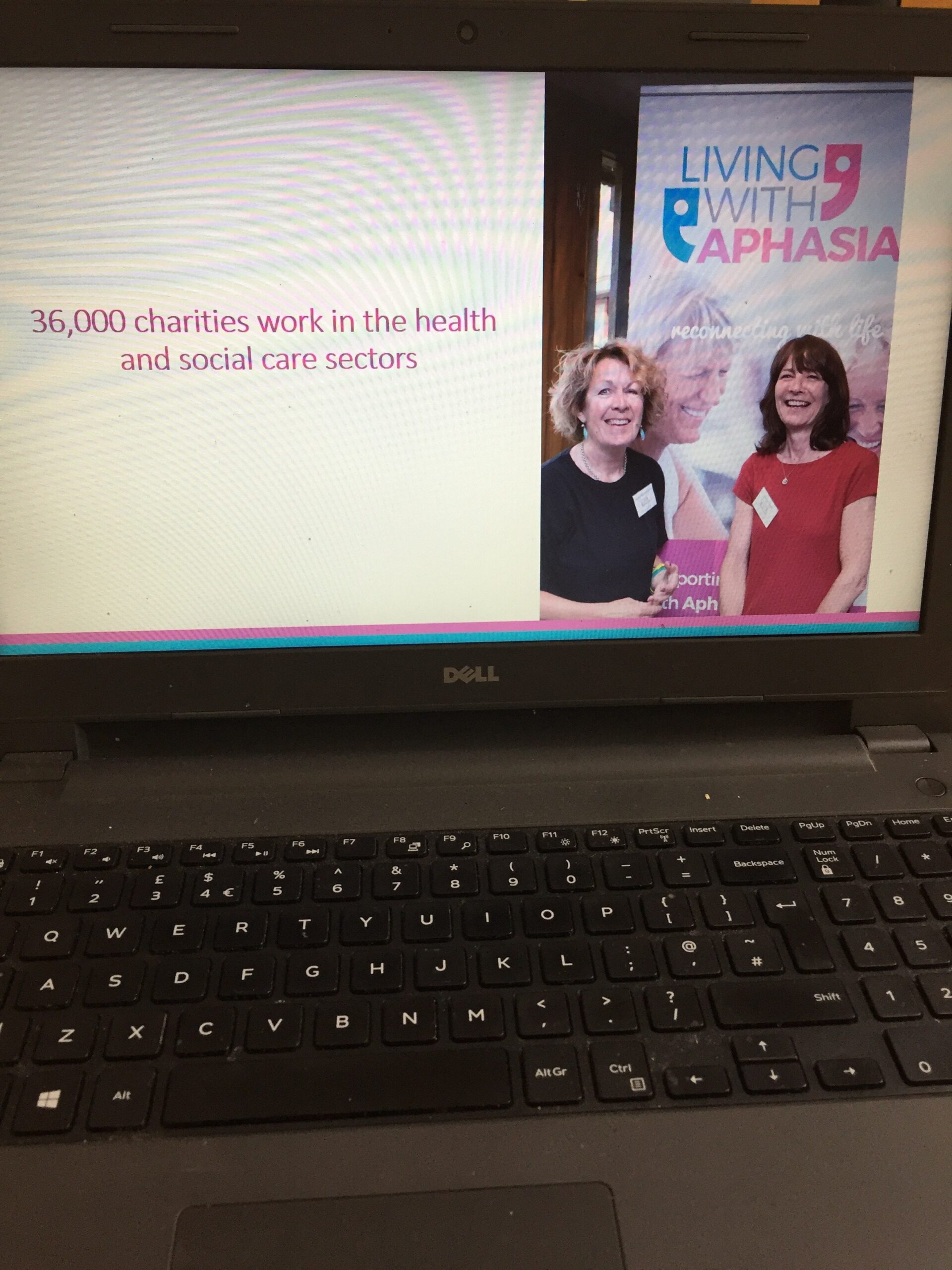 charity living with aphasia together working in partnership