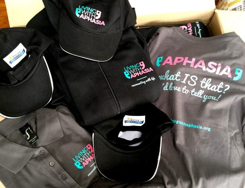 new clothing living with aphasia
