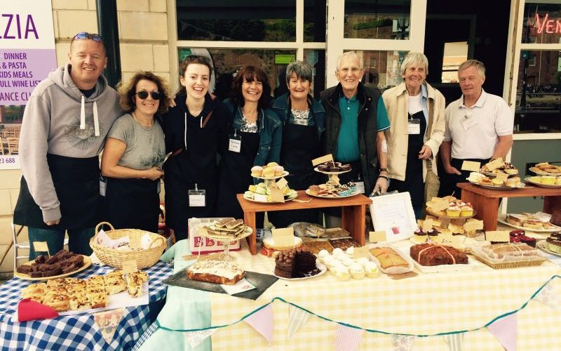 who cake stall living with aphasia fundraising exeter devon stroke