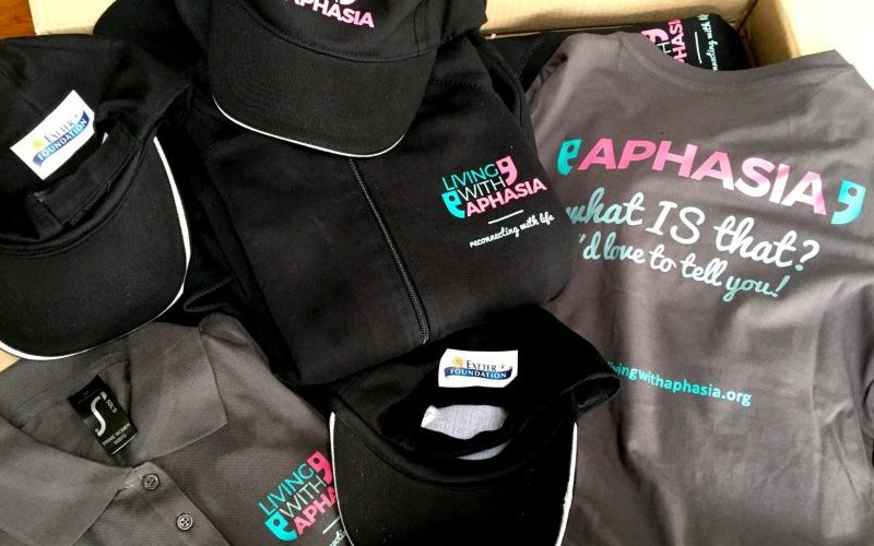 new clothing living with aphasia DEvon