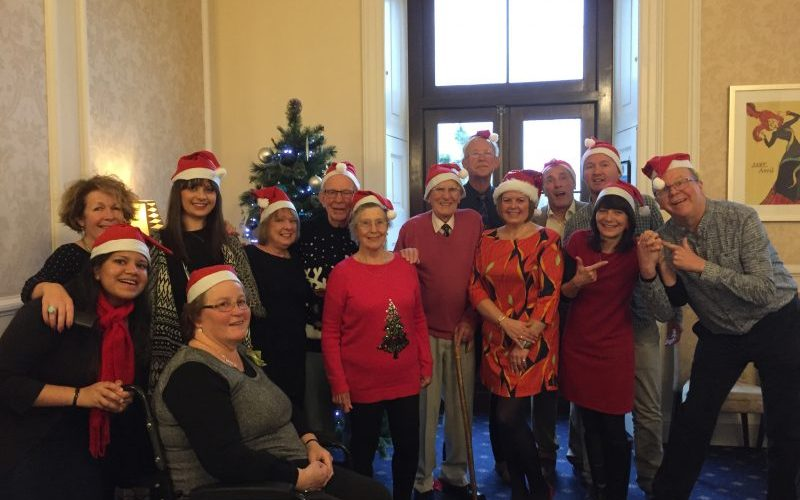 festive sing aphasia lunch