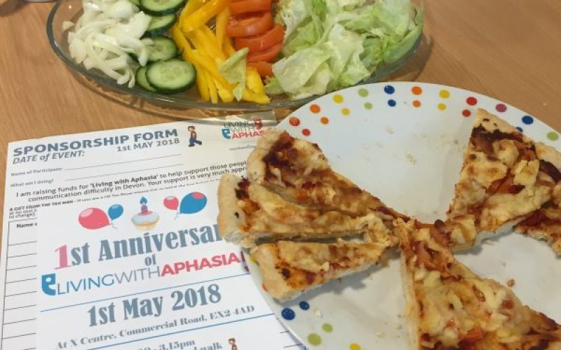 pizza living with aphasia